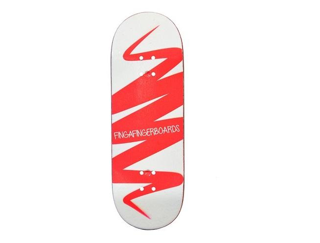 Designové desky s odíratelnou grafikou, skateboardovým tvarem a v 33 mm šířce! Finga Fingerboards