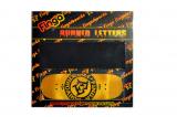 Oblíbené Burned Letters s laserem vypalovaným logem do spodní vrstvy desky konečně v 33 mm šířce a s pokročilým skateboardovým tvarem. Finga Fingerboards