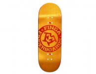 Finga Burned Letters 2015 – žlutá/červená 33mm