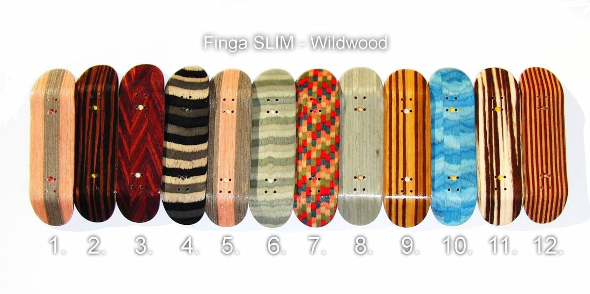 Finga Slim - Wildwood Finga Fingerboards
